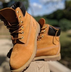 Timberland leather boots - women